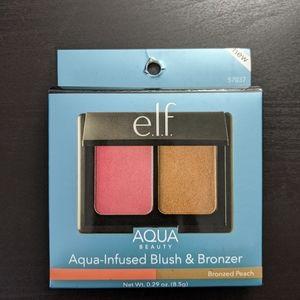 ELF Makeup - e.l.f. Cosmetics Aqua Infused Blush Bronzer 2 Pack